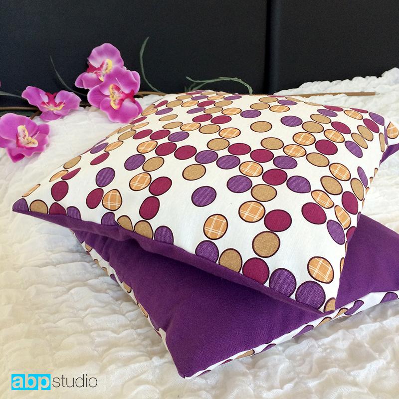 шьем декоративные подушки.