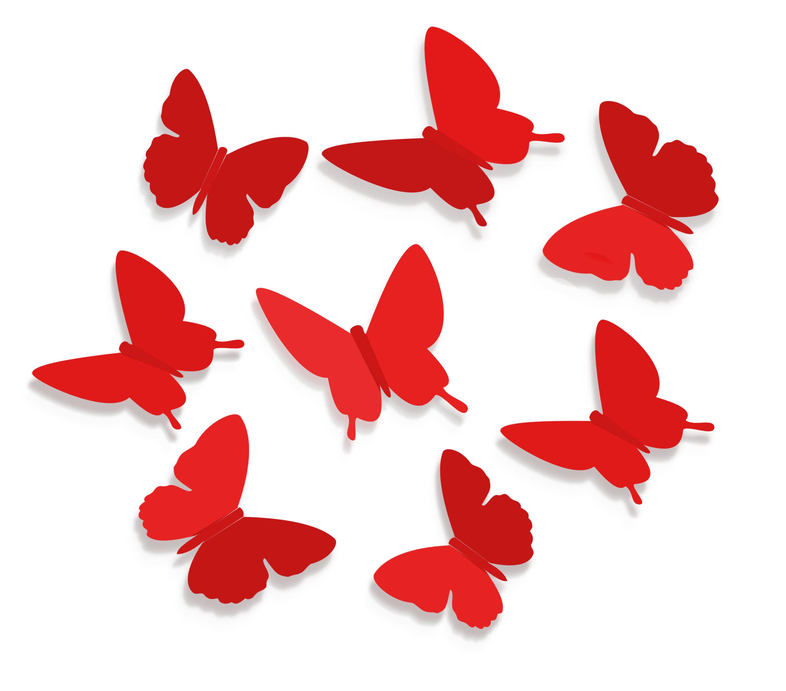 Бабочки для декора своими руками: из бумаги, объемные 72